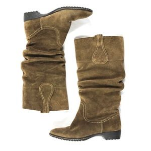 Sofft Slouchy Suede Tall Boots Sz 7.5